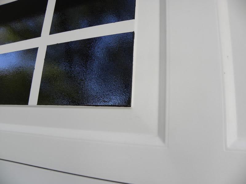Faux Garage Door Windows House To Home Blog