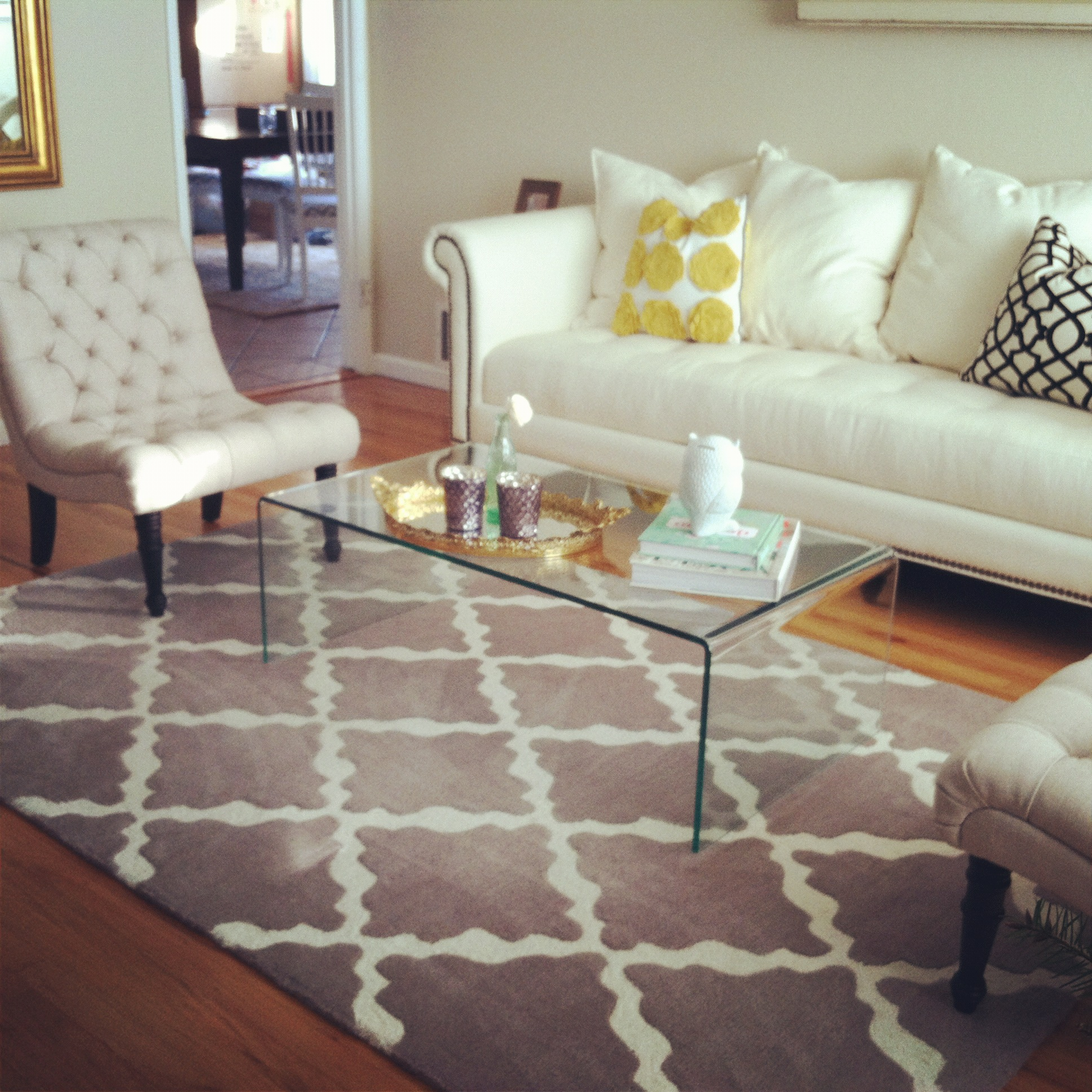 Overstock house to home blog for Overstock acrylic coffee table