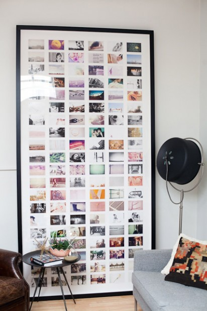 Wall Collage Picture Frames photograph wall collage | house to home blog