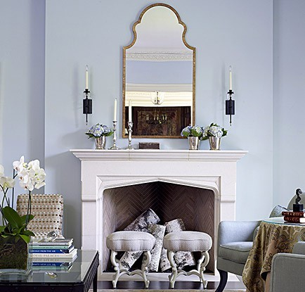 Image Result For Hanging Mirror Over Fireplace Mantel