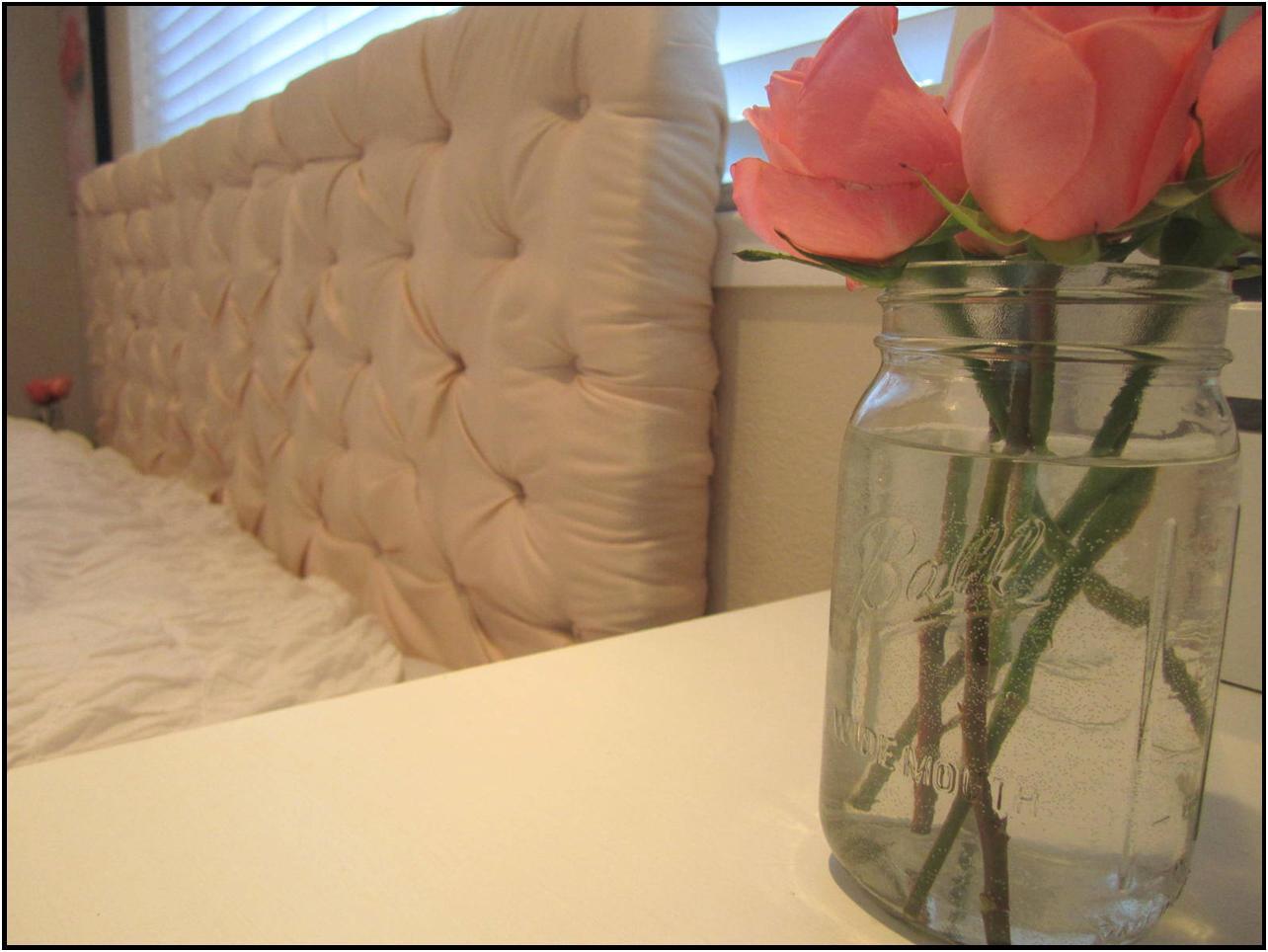 Diy Tufted Headboard Tutorial House To Home Blog