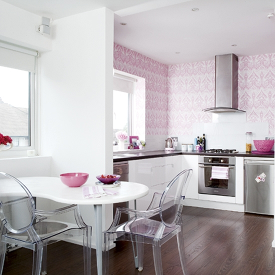 Pink Kitchen Walls pinterest favorites {wall colors + design} | house to home blog