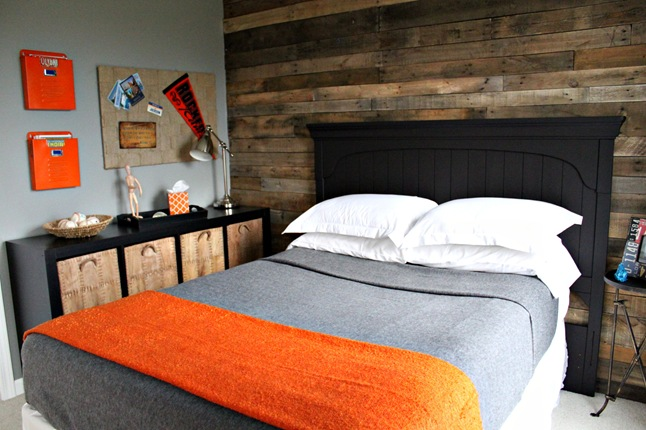 DIY Wood Pallet Wall | House To Home Blog