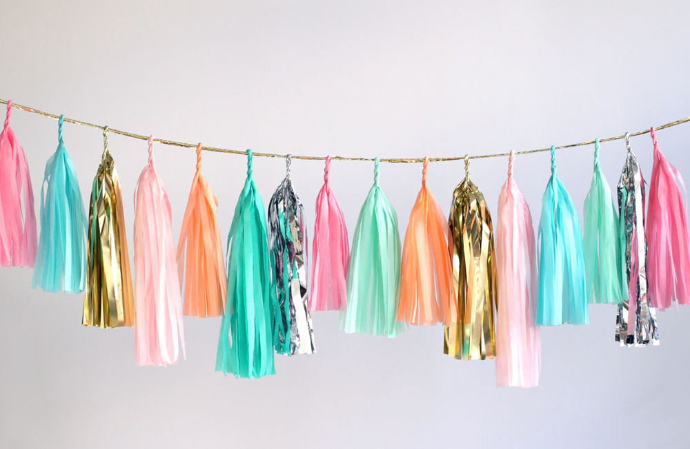 Diy Tassel Garland House To Home Blog