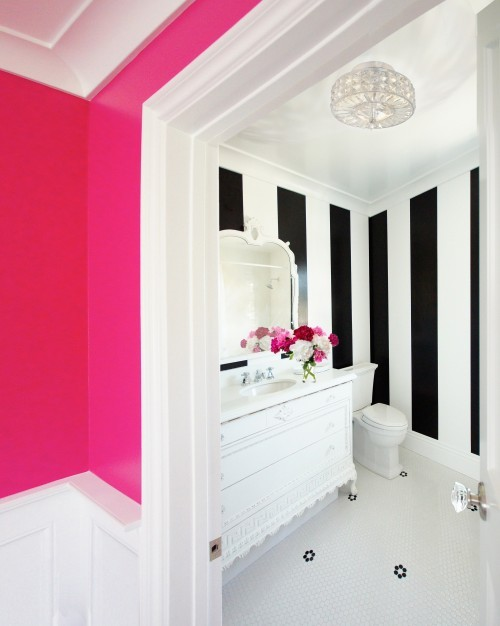 Diy black white stripe wall house to home blog 97671885639016665befzzq0tc sciox Image collections